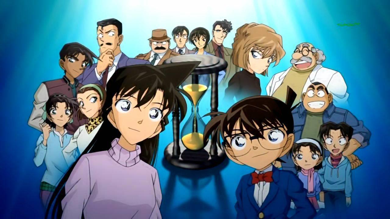 صور المحقق كونان Detective-Conan-Ran-Kogoro-Goro-Heiji-Professor-Agasa-Ai-Squadra-dei-Giovani-Detective