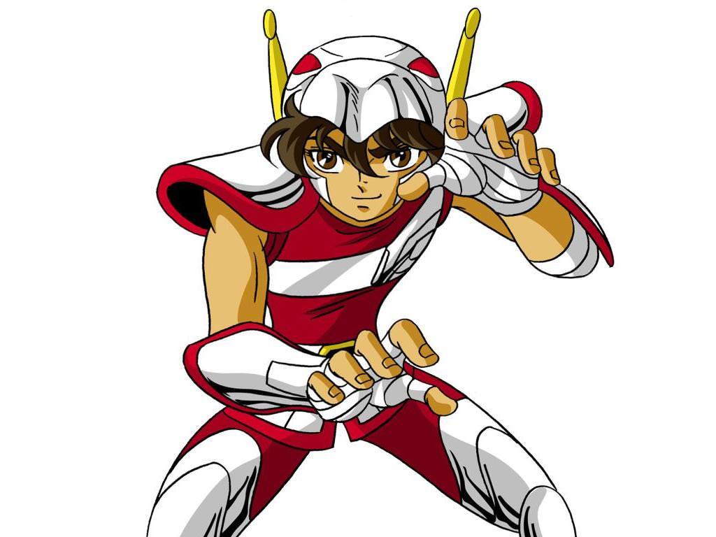 Seiya armor V1 anime color