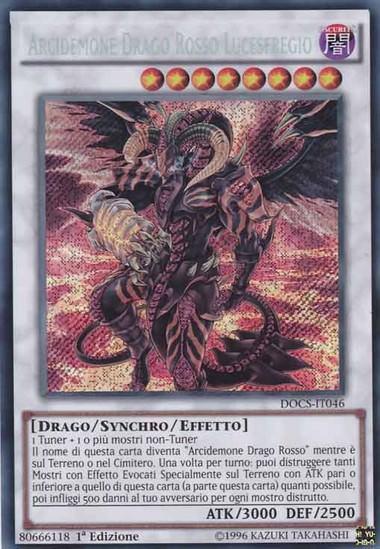 Arcidemone Drago Rosso Lucesfregio | AnimeeManga.it